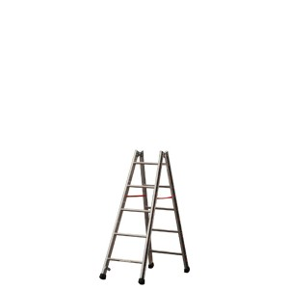 Euro-Profi Hliníkový stojací rebrík Mod. S305 - Počet priečok: 2 x 5,  Dĺžka ca. m: 1,55